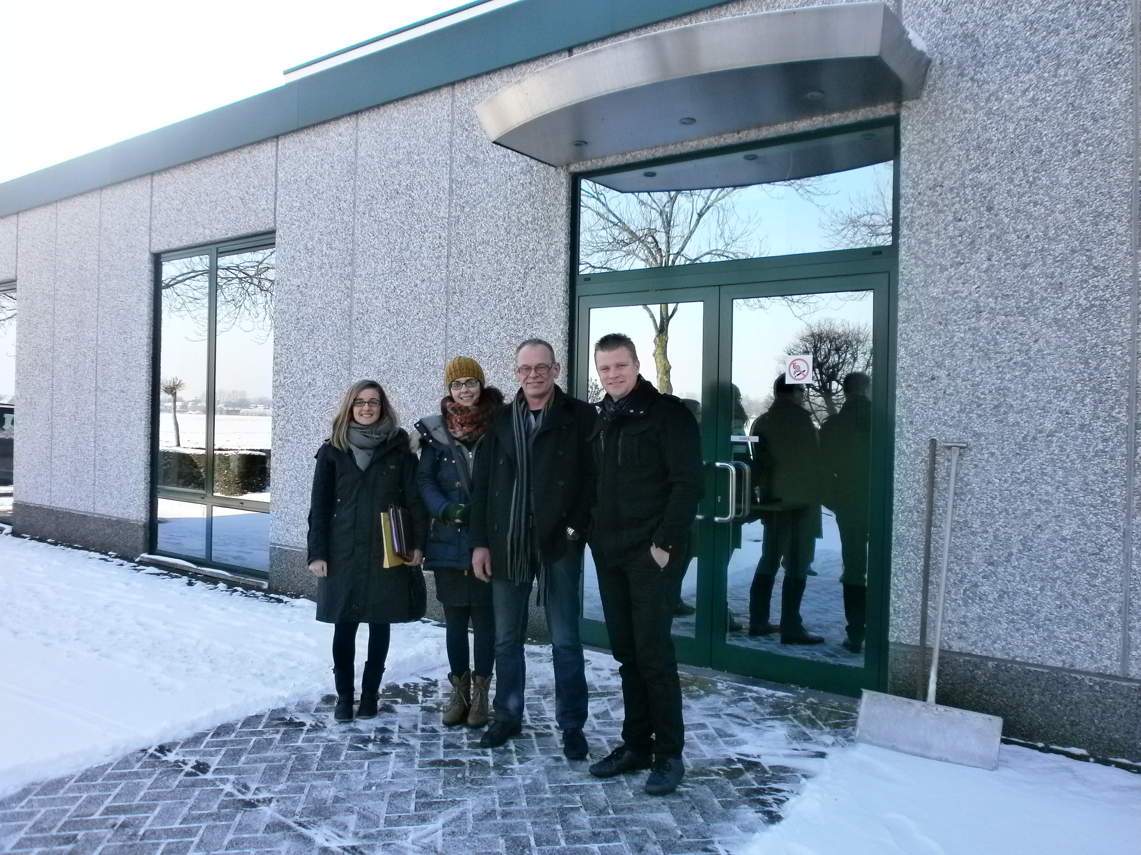 2nd FOLLOW-UP MEETING OF THE PROJECT REC-POLYOLEFIN IN THE FACILITIES OF MOS 16/01/2013